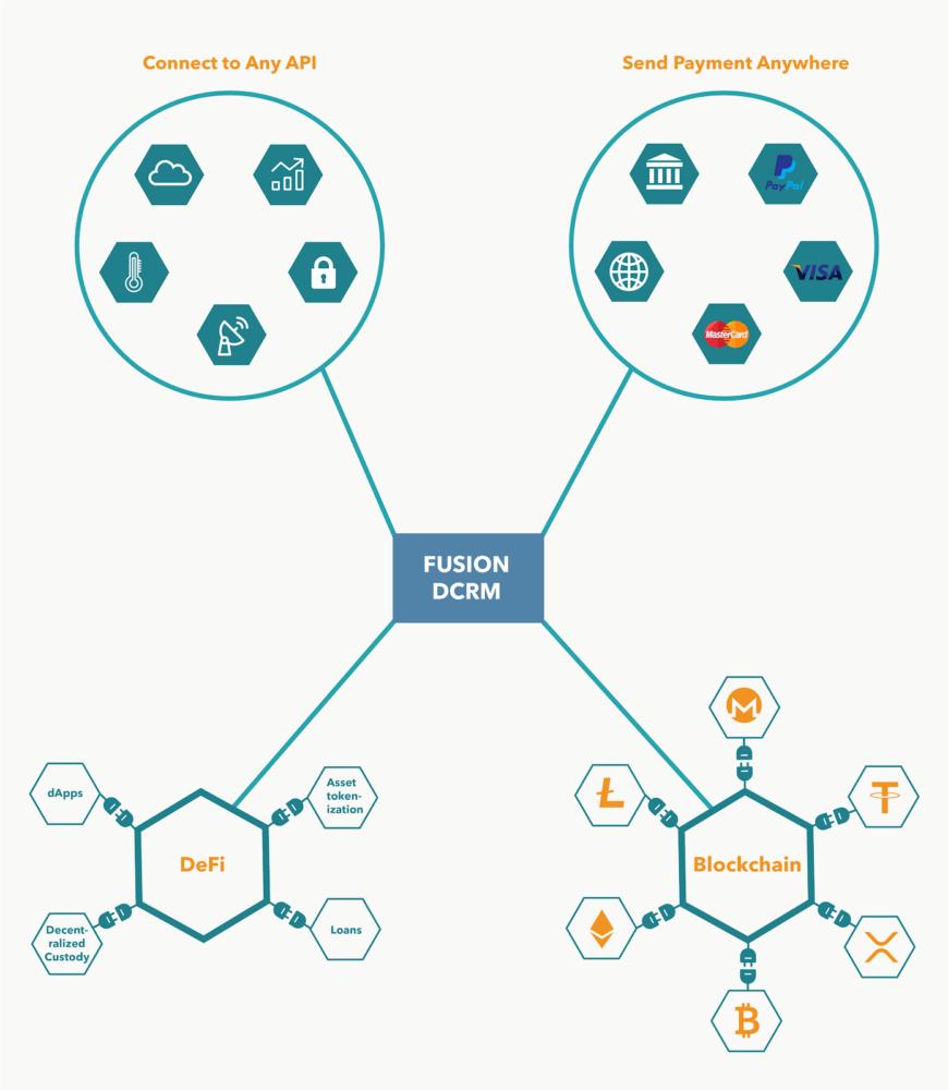 Fusion DCRM technology representation