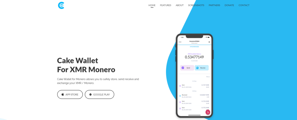 Cake-Wallet-best-monero-wallet