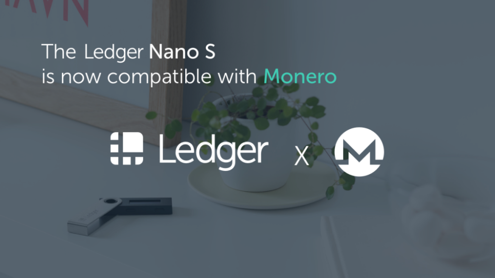 ledger nano x monero