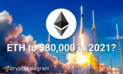 Ethereum price to 80000 usd