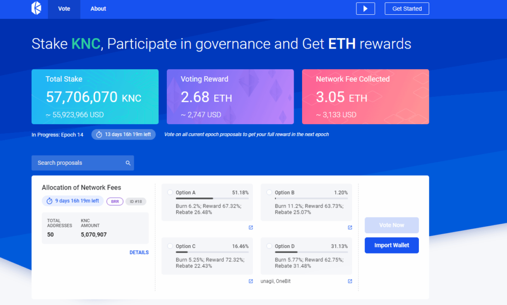 Kyber-network-website