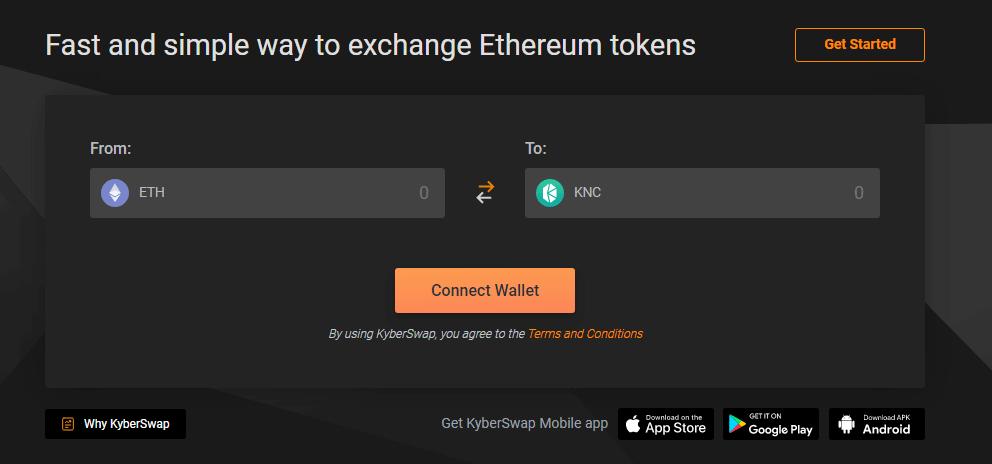 Kyberswap-homepage
