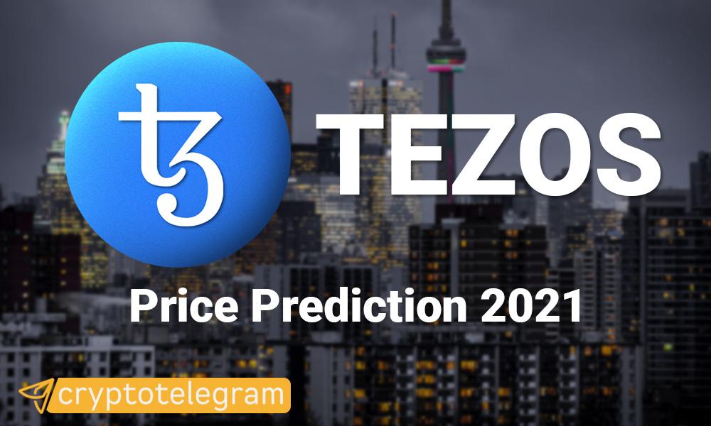 Tezos Price Prediction 2021
