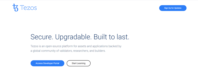 tezos-official-website