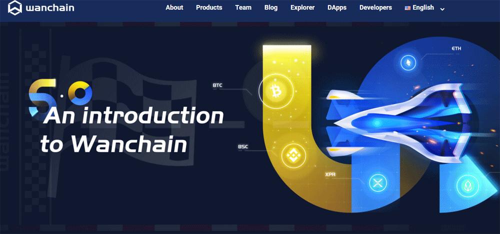 Wanchain-website-homepage