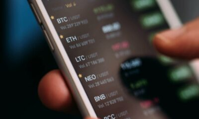mobile phone trading crypto